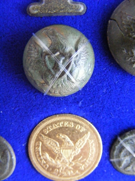 U.S. Army Infantry button with a